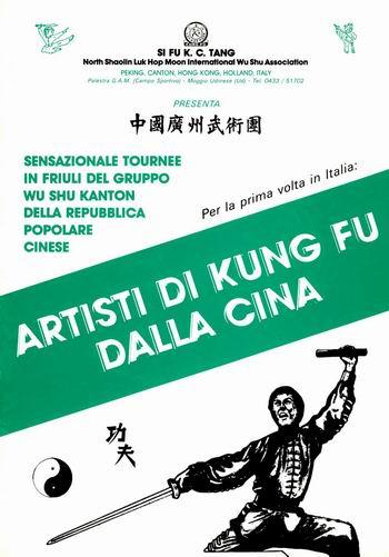 Artisti di Kung fu dalla Cina