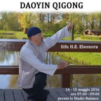 Seminario di Daoyin Qigong